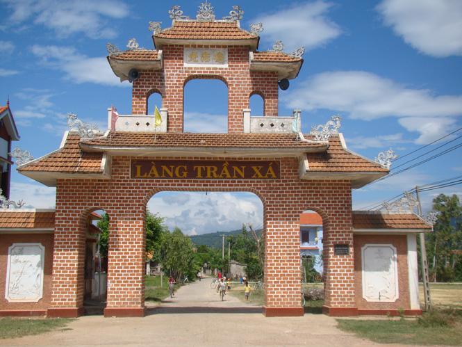 Xây dựng nông thôn mới kiểu... Hàm Ninh