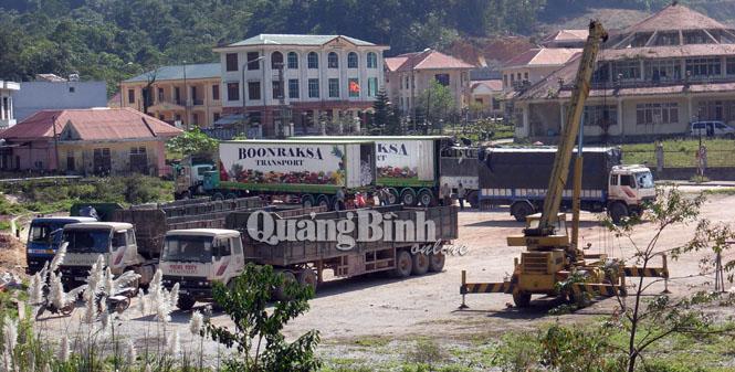 Xây dựng Trạm trung chuyển hàng hóa quốc tế tại Cha Lo