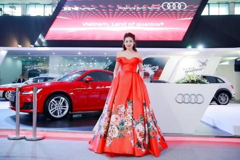 Xem thời trang và ca nhạc với sao Audi tại Triển lãm ô tô quốc tế Việt Nam