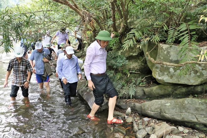 Xuyên rừng khám phá khe Nước Trong, chìm trong không khí dịu mát