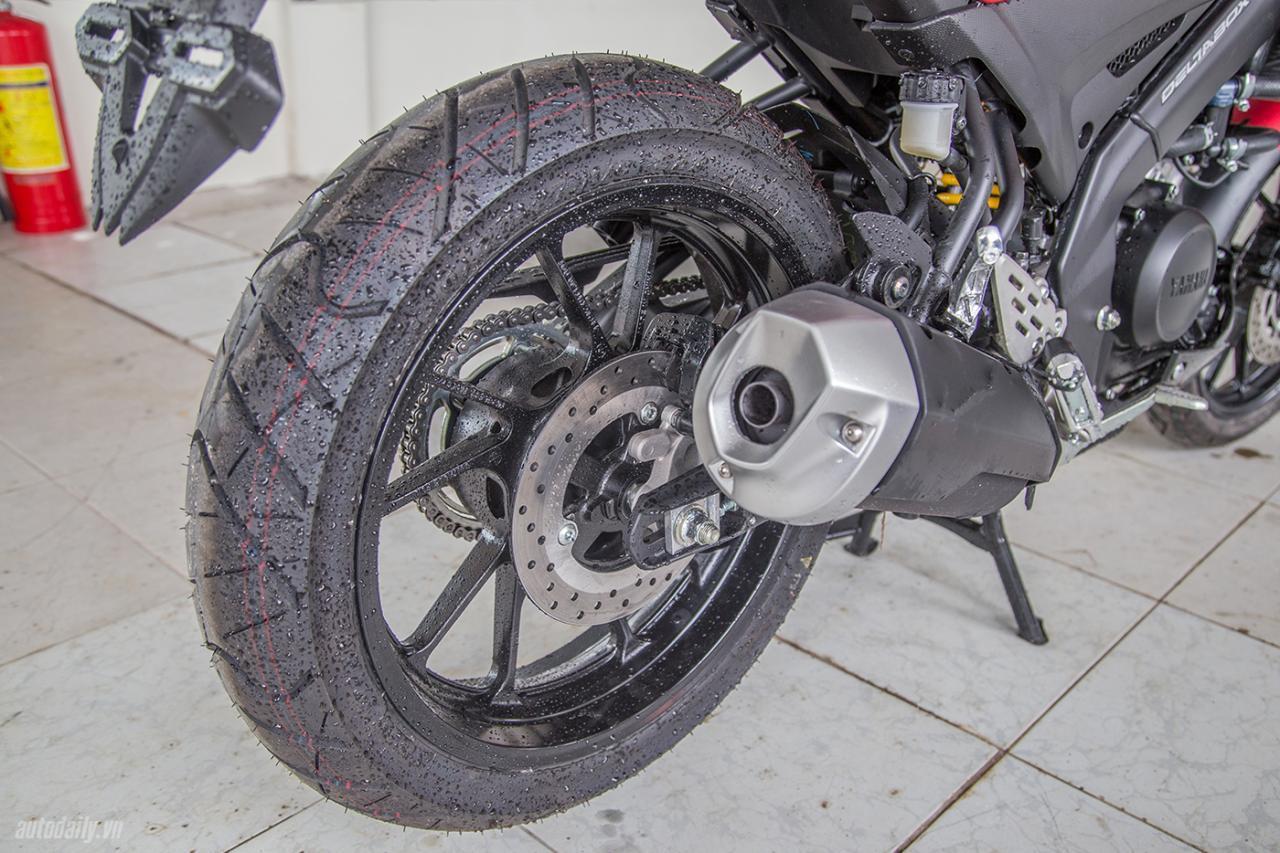 Yamaha FZ-150i 2017 có giá hơn 70 triệu đồng ở Việt Nam